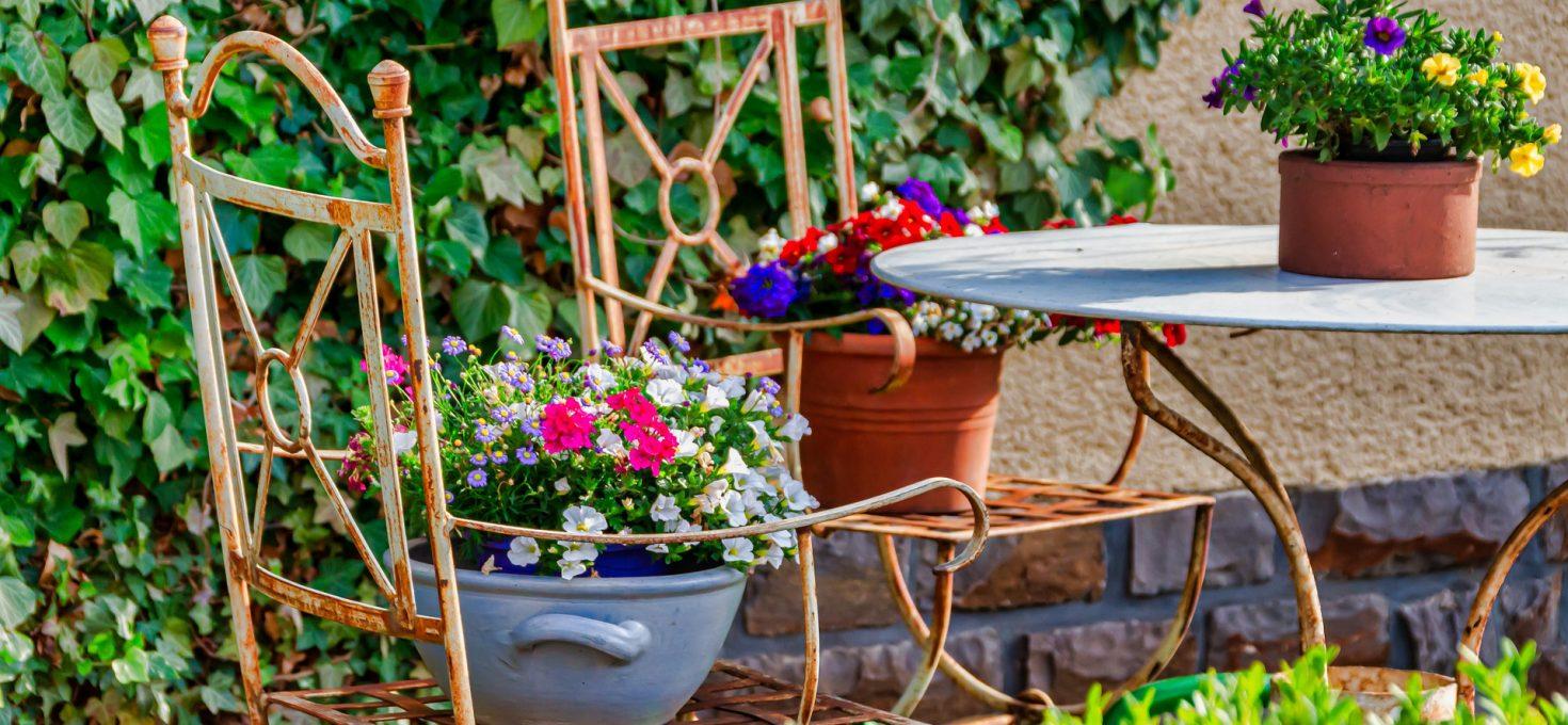 Le meuble de jardin Vintage