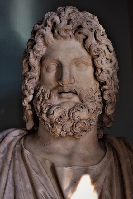 sculpture de zeus